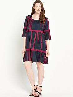 junarose-printed-shift-dress