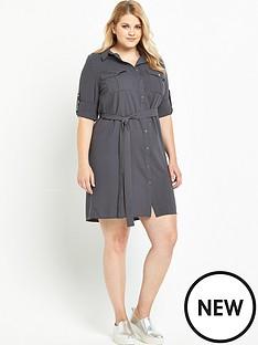lovedrobe-lovedrobe-pocket-shirt-dress