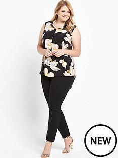 lovedrobe-lovedrobe-floral-sleeveless-shirt