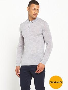 minimum-jaylen-knitted-long-sleeve-polo-top