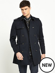 river-island-double-breasted-military-trench-coat