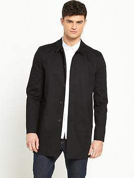 river-island-single-breasted-water-resistant-mac