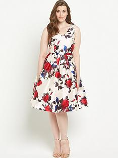 chi-chi-london-curve-floral-v-neck-full-midi-dressnbsp