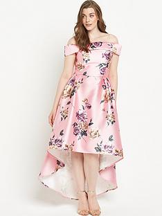 chi-chi-london-curve-curvenbspfloral-bardotnbspfull-midi-dress