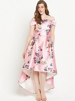 chi-chi-london-curve-curvenbspfloral-bardotnbspfull-midi-dress