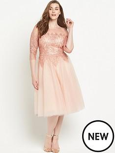 chi-chi-london-chi-chi-curve-frac34-sleeve-mesh-and-lace-prom-midi-dress