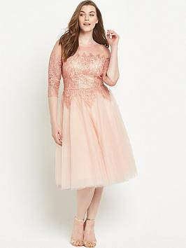 chi-chi-london-curve-chi-chi-curve-frac34-sleeve-mesh-and-lace-prom-midi-dress