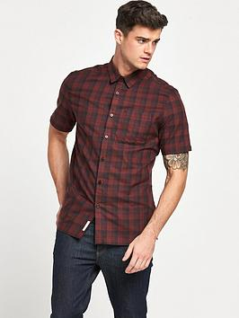 river-island-short-sleeve-checked-shirt