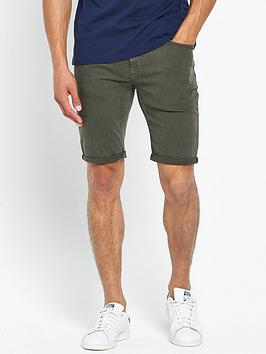 river-island-skinny-fit-denim-shorts