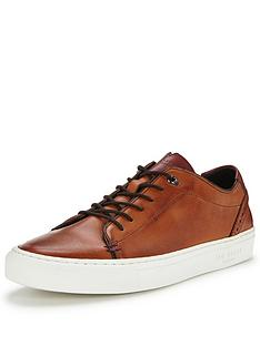 ted-baker-ted-baker-kiing-leather-plimsoll