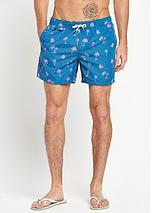 Palm Tree Print Swim Shorts