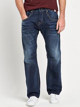 Jack & Jones Intelligence Boxy Loose Fit Jeans