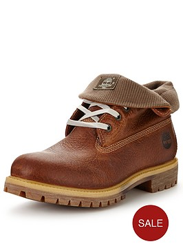 timberland-timberland-roll-top-leather-and-fabric-boot