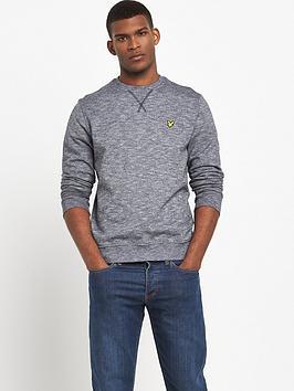 lyle-scott-mouline-crew-neck-sweatshirt