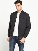 Brushed Bomber Jacket