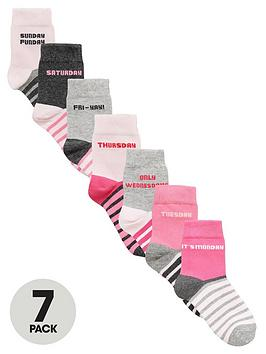 v-by-very-girls-days-of-the-week-socks-7-pack