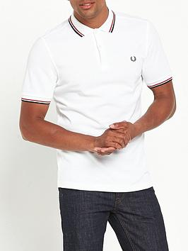 Fred Perry Fred Perry Original Twin Tipped Polo Shirt - White Picture