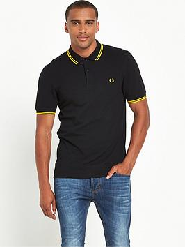 f785f6b4b Fred Perry Original Twin Tipped Polo