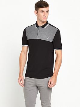fred-perry-houndstooth-panel-polo