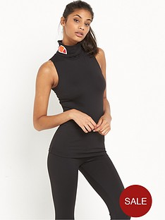 ellesse-vera-roll-neck-sless-t-shirt