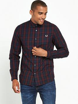 fred-perry-winter-tartan-shirt