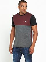 Marl Colour Block T-Shirt