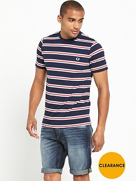 fred-perry-bomber-stripe-t-shirt