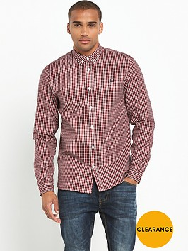 fred-perry-basketweave-shirt