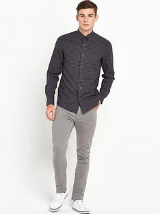 fred-perry-distorted-gingham-twill-shirt