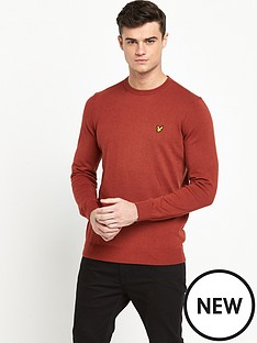 lyle-scott-merino-crew-neck-jumper