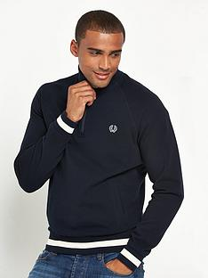 fred-perry-sports-authentic-half-zip-sweat