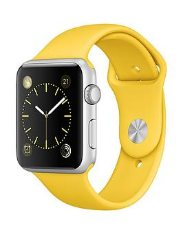 apple-watch-42mm-silver-aluminium-case-with-yellow-sport-band