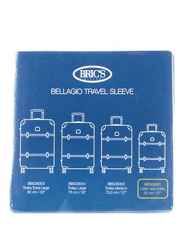 brics-bellagio-55cm-4-wheel-cabin-trolley-transparent-cover