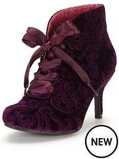 joe-browns-joe-browns-stunning-embossed-velvet-bootees