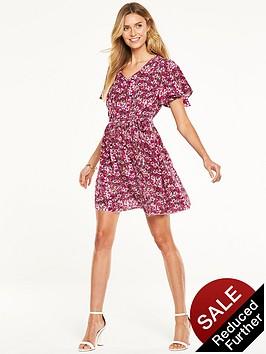 v-by-very-angel-sleeve-day-dress