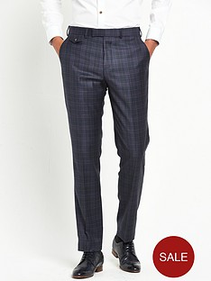 ted-baker-hunter-checknbspsuit-trousers