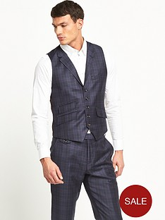 ted-baker-hunter-check-suit-waistcoat