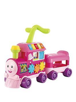 winfun-walker-ride-on-learning-train-pink