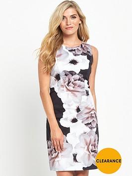 wallis-mono-cotton-shift-dress
