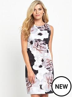 wallis-wallis-mono-cotton-shift-dress