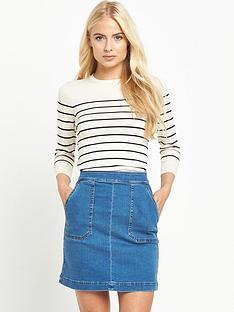 warehouse-breton-stripe-crew-neck-jumper