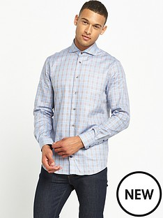 tommy-hilfiger-contrast-check-shirt