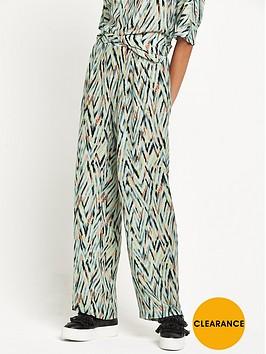 warehouse-zig-zag-print-trouser