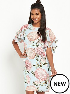 warehouse-floral-print-dress