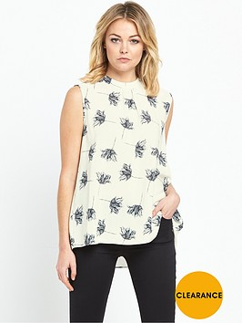 warehouse-stencil-floral-tie-back-top