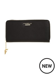 fiorelli-city-zip-around-purse-black
