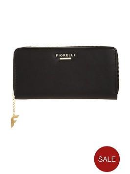 fiorelli-city-zip-around-purse-black
