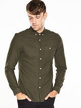 Long Sleeve Brushed Oxford Shirt