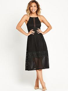 myleene-klass-full-skirted-lace-dress-with-cross-over-straps