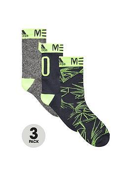 adidas-messi-junior-socks-3-pack